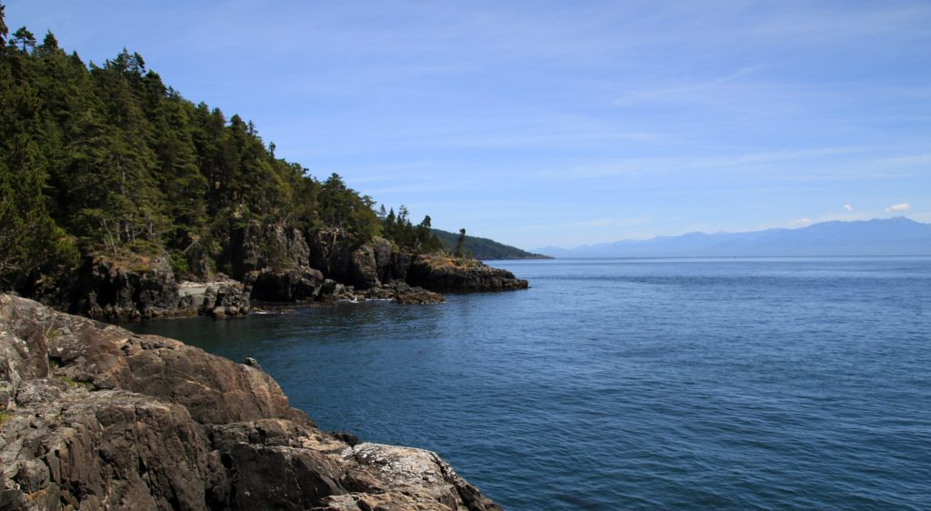 Coast Trail in East Sooke Park