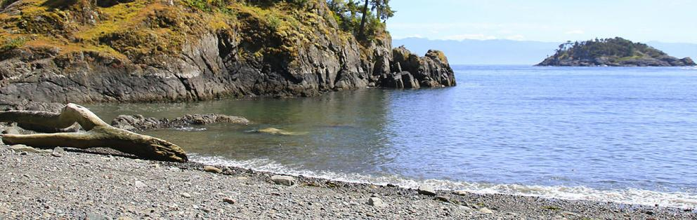 Iron Mine Bay in East Sooke Park