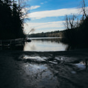 The Brookleigh Boat Launch area at the northwest corner of Elk Lake.