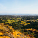 View from the top of Mount Douglas in Victoria.